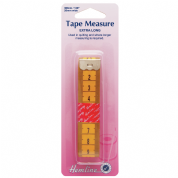 Quilters Extra Long Tape Measure - 3m / 120ins